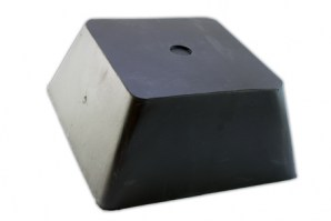Universal Rubber Lift Block for Scissor Lifts